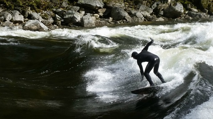 4. River surfing is a thing.