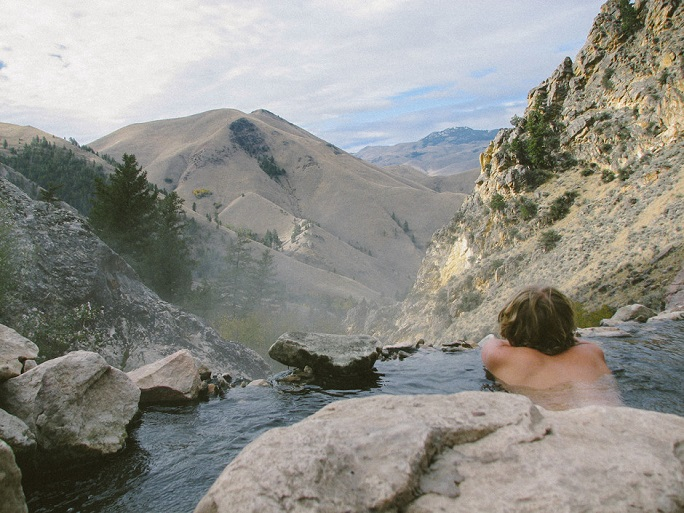 5. Hot springs are better than hot tubs.