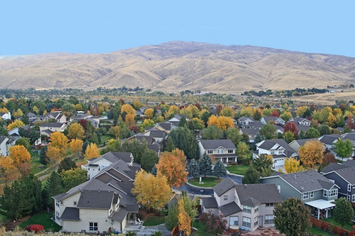 Boise Subdivision and Foothills
