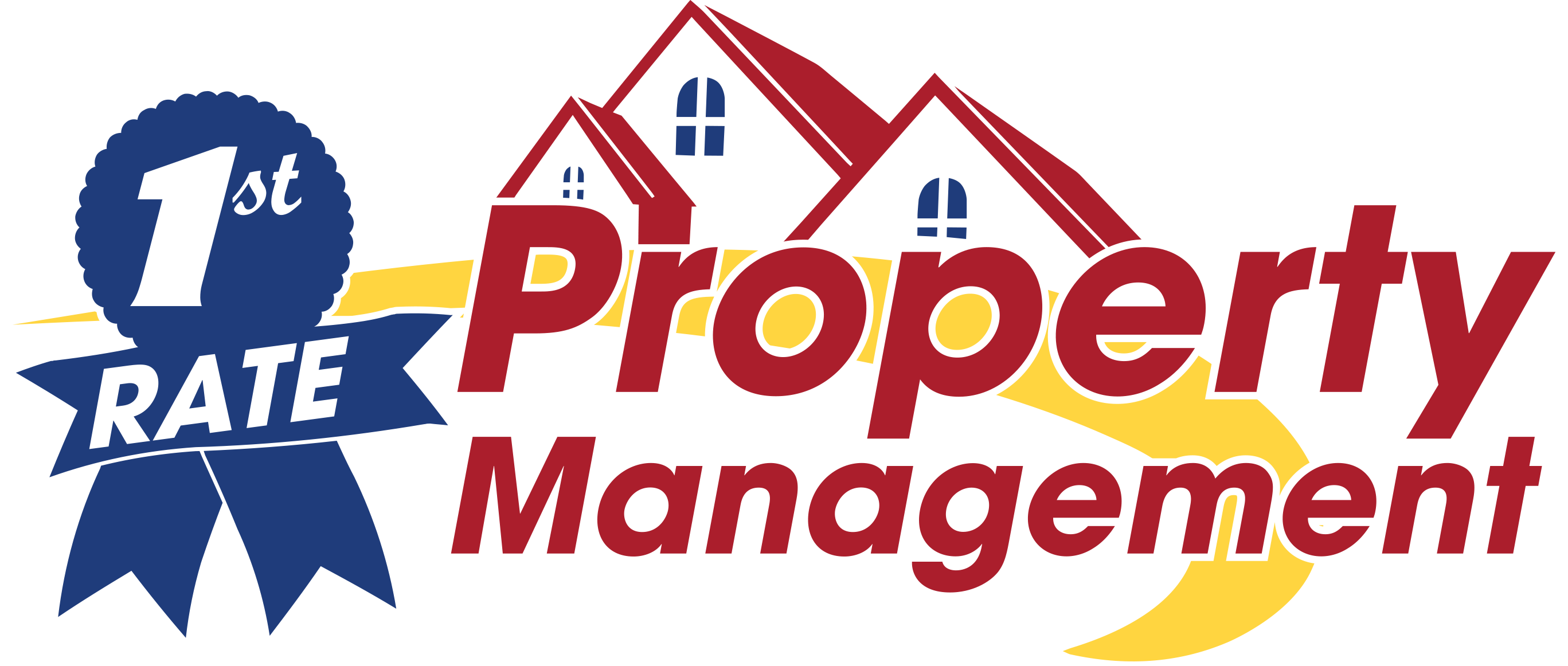 First Rate Property Management logo