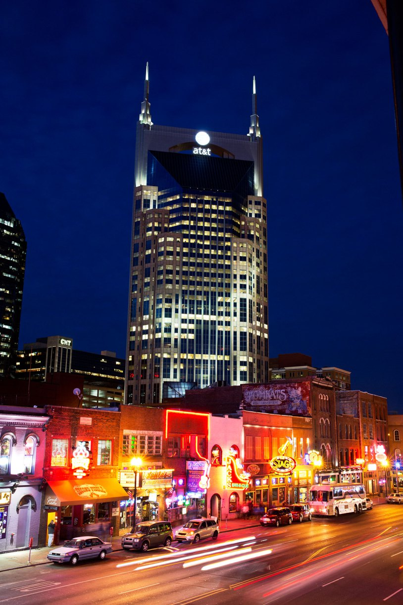Batman Building, downtown Nashville